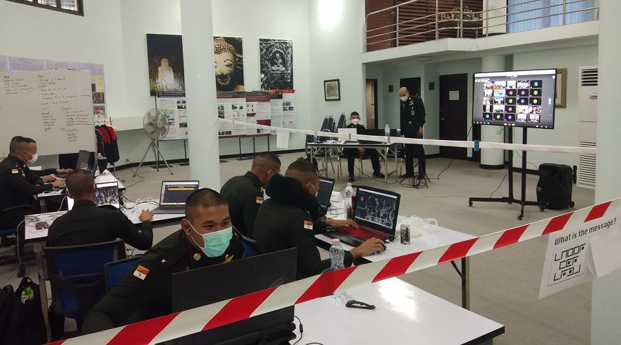 การแข่งขันทักษะทางไซเบอร์ รร.ทหาร-ตำรวจ ประจำปี 2564