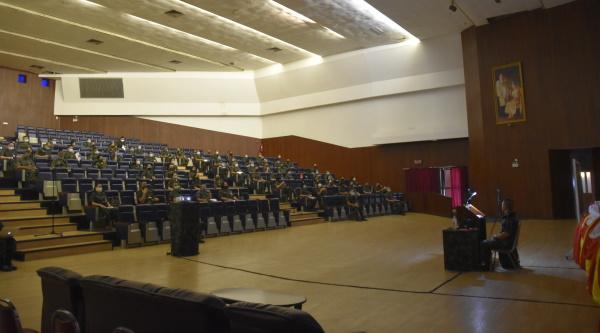 สกศ.รร.จปร. จัดการประชุมสาธิตการใช้อุปกรณ์สอนออนไลน์ ในช่วงสถานการณ์ COVID-19